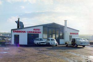 Fahrzeughalle 1969