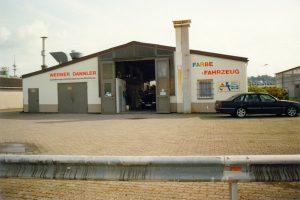 Fahrzeughalle 1990