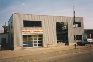 Fahrzeughalle 1995